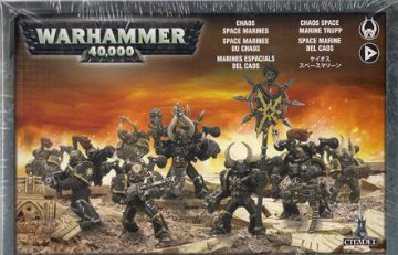 Games Workshop Warhammer 40000 40K Chaos Space Marines 43-06